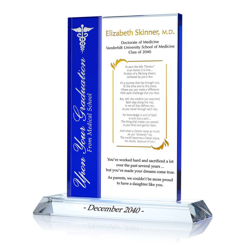 Medical School Graduation Gift for Son/Daughter