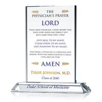 Personalized Medical School Graduation Gift with The Physician's Prayer