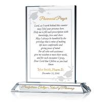 Personalized Pharmacist Prayer Graduation Gift Plaque