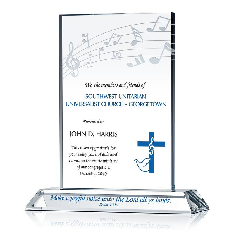 Christian Appreciation Gift for Music Minster