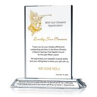 Church Music Director Appreciation Plaque