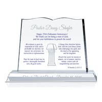 25th Ordination Anniversary Gift Plaque (#621-A)