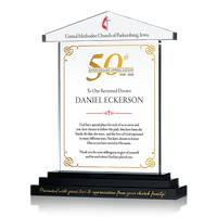 50th Anniv. Appreciation Plaque for Priest