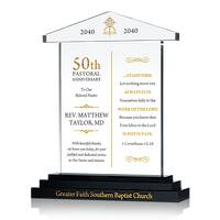 Pastor 50th Anniversary Sample Verse
