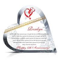 Sample 15th Wedding Anniversary Poem