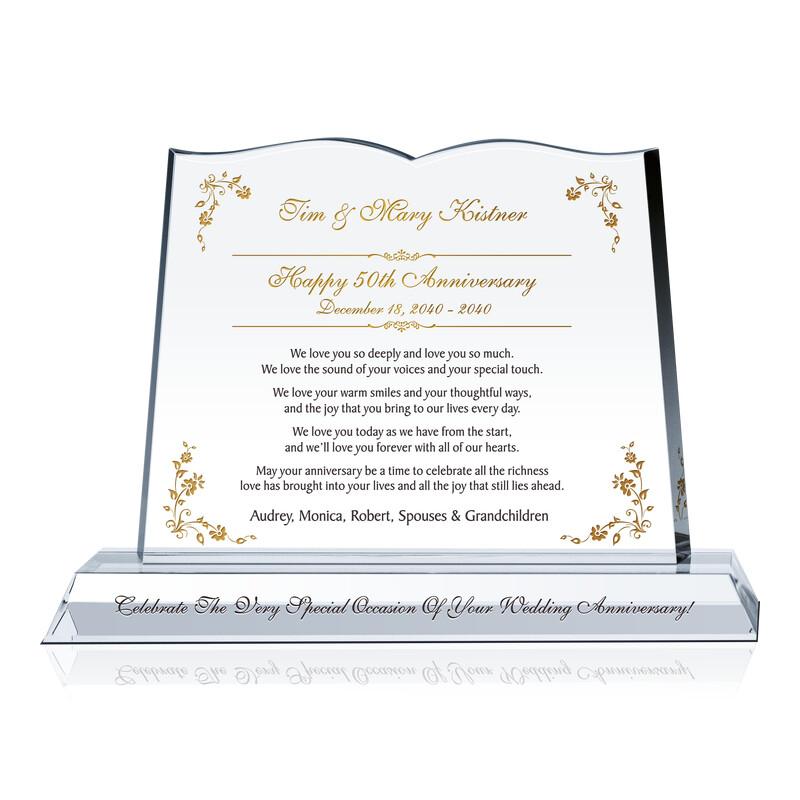 50 Years Anniversary Celebration Message