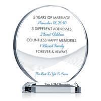 Sample 5th Wedding Anniversary Message