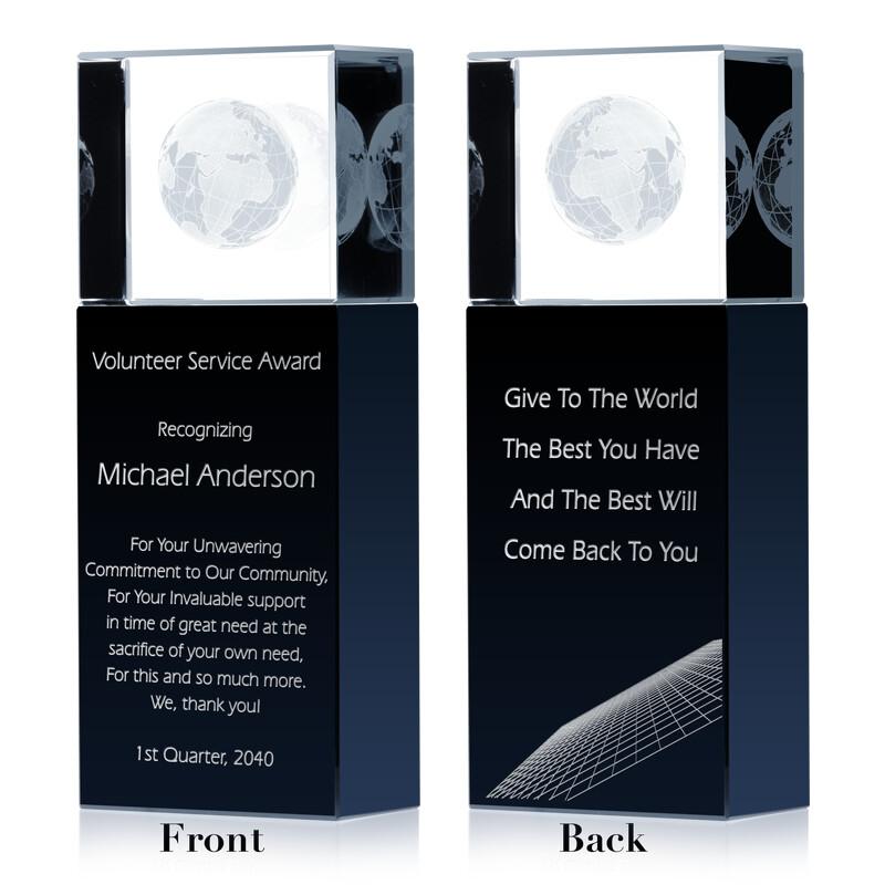Thank You Volunteer Award