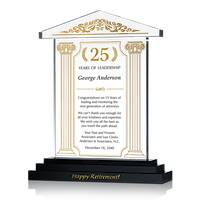 Lawyer Retirement Gift Plaque
