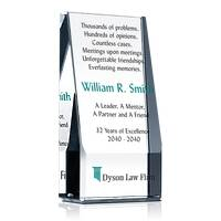Lawyer Retirement Award Plaque
