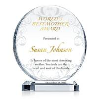 World's Best Mother Award Plaque