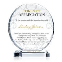 Best Mother Appreciation Gift Plaque