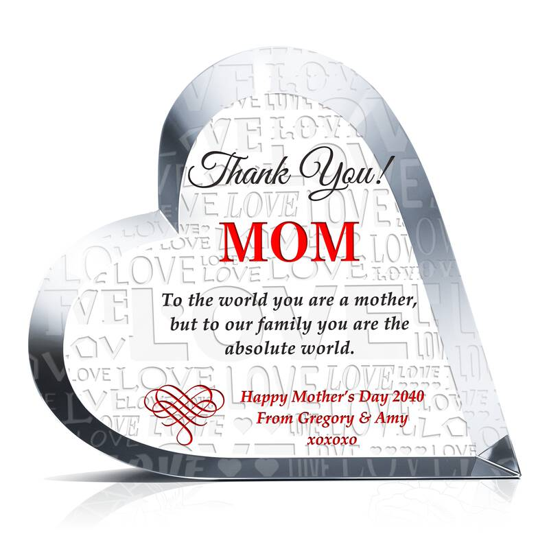Mother's Day Gift Plaque from Son