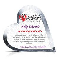 Mother's Day Gift Plaque from Daughter