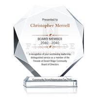 Board Member Service Award Plaque