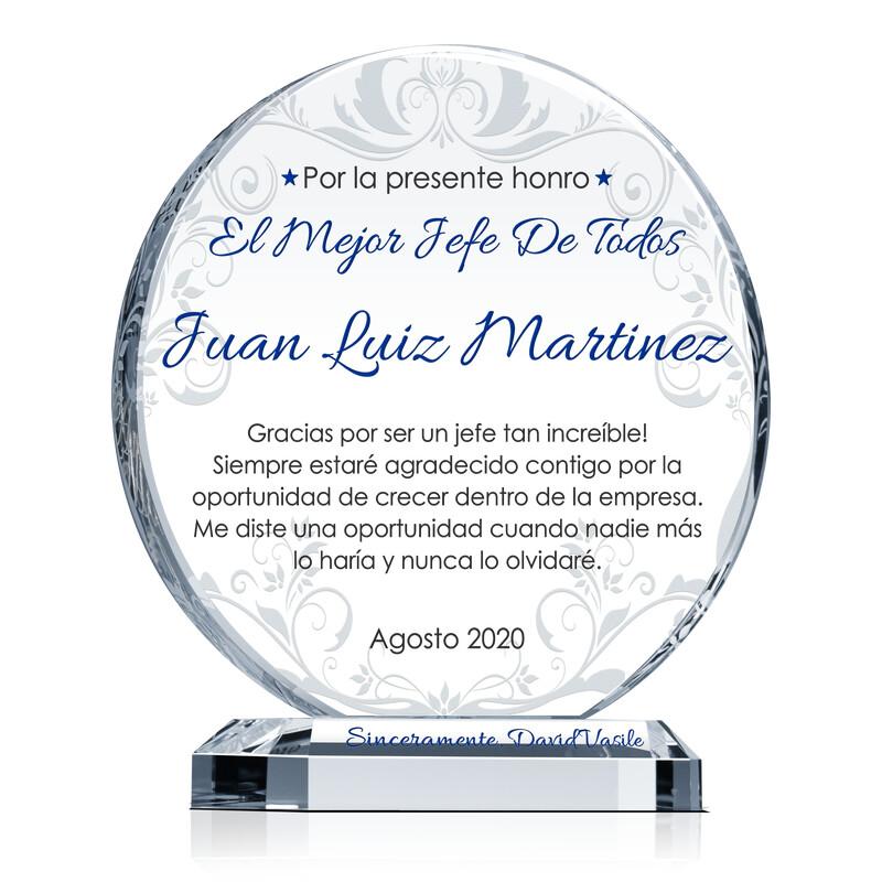 Premio de Reconocimiento Al Mejor Supervisor