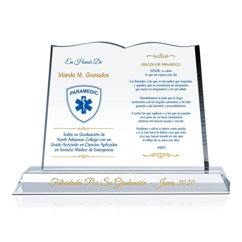 Regalo de Graduación Paramédico / EMS