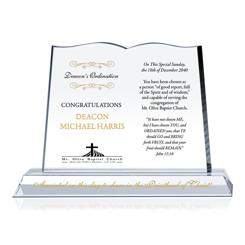 Deacon Ordination Congratulations Gift