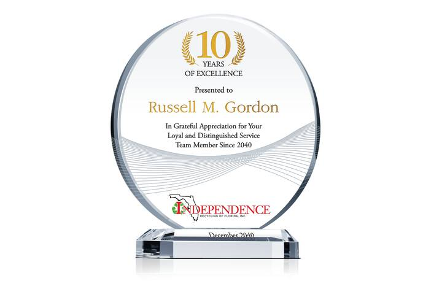 Employee Long Service Award