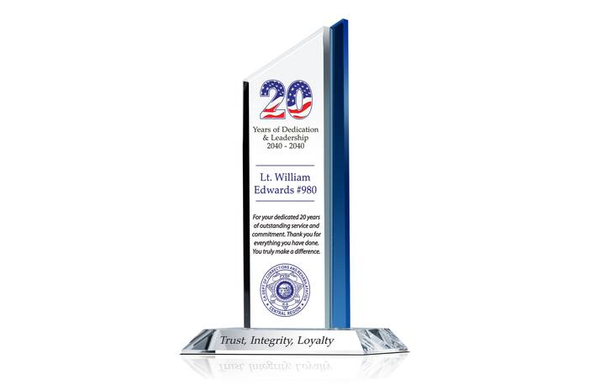 Public Service Recognition Award Wording
