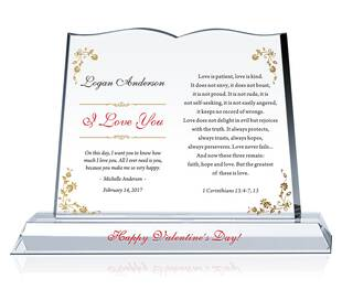'I Love You' Gift Plaques