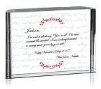 Valentine Love Plaque