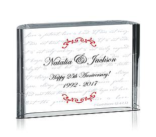'Love is Patient' Gift Plaques
