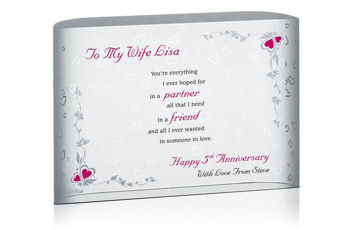 Anniversary Gift for Wife