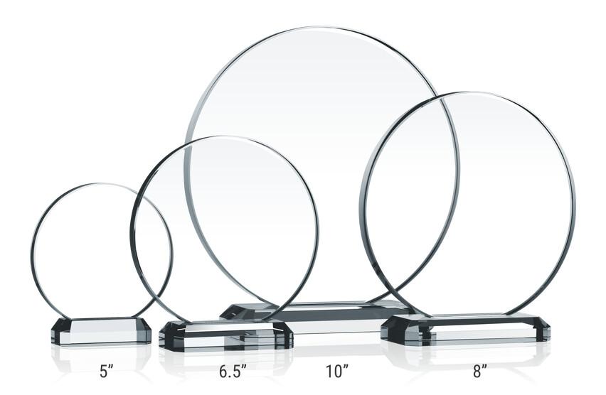 Crystal Circle Award Plaques