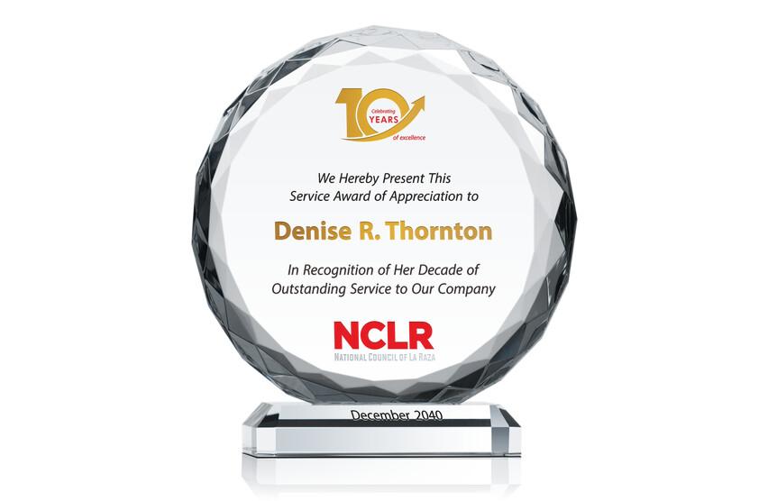 Employee Service Excellence Award
