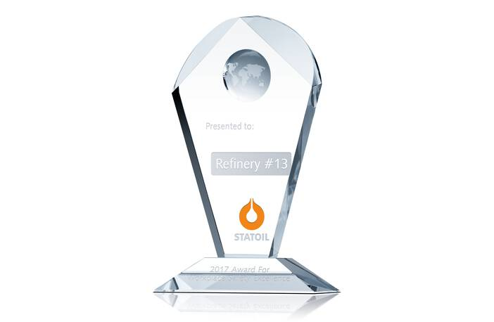 Workplace Safety Award Plaque