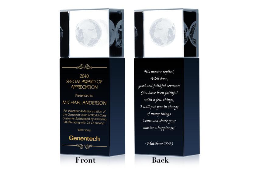 Special Award of Appreciation
