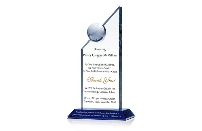 Religious Appreciation Gift Plaque