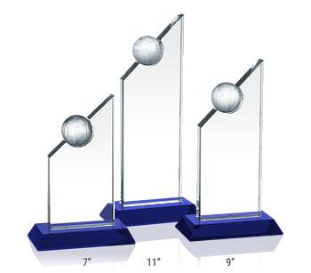 Crystal Apex Award Plaques
