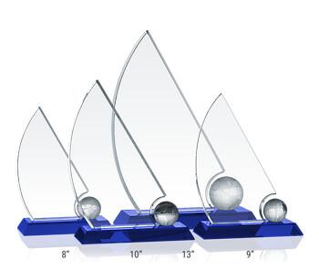 Crystal Sailboat Awards