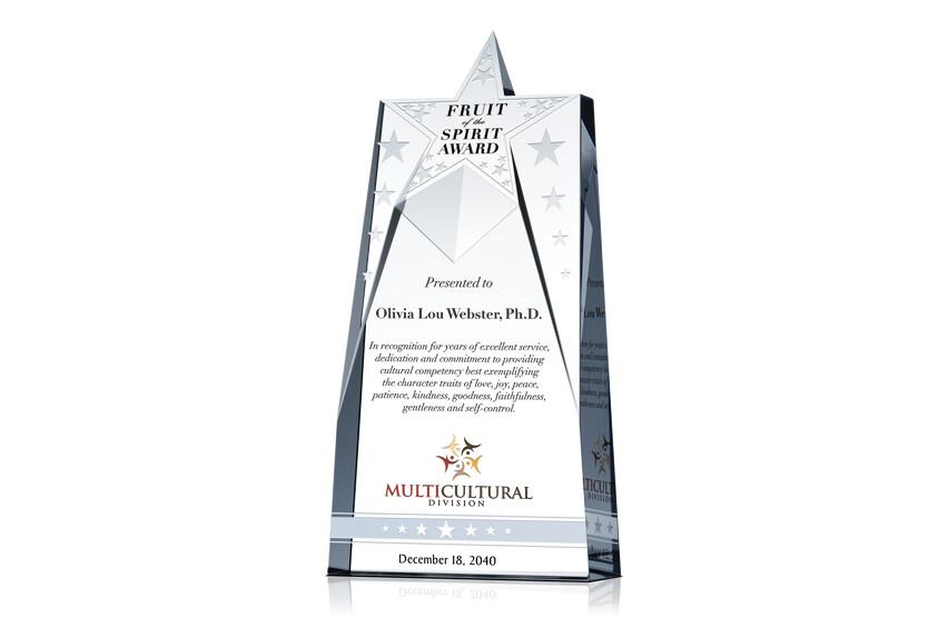 Christian Fruit of the Spirit Award