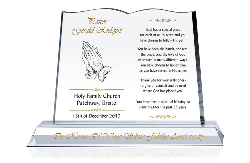 Celebrating Pastor's Silver Jubilee