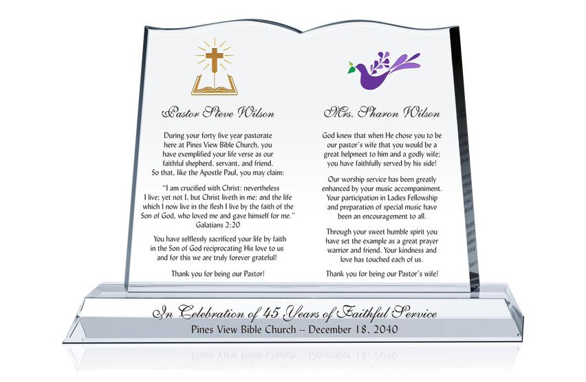 Celebrate Pastor Anniversary Gift