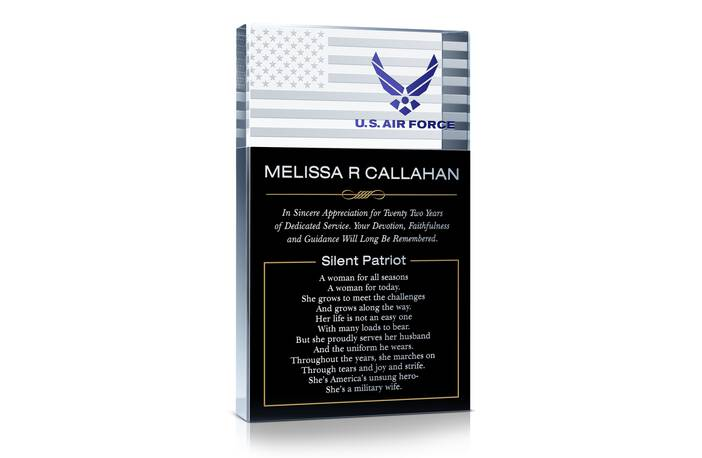 Air Force Silent Patriot Award Gift
