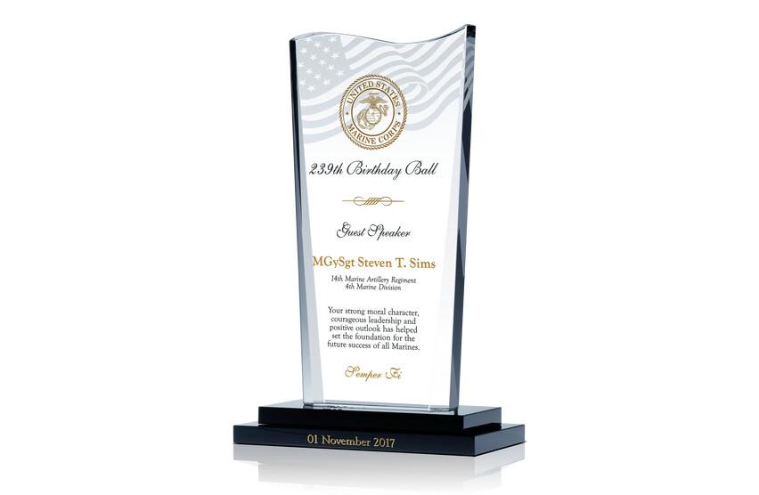 USMC Birthday Ball Guest Speaker Award