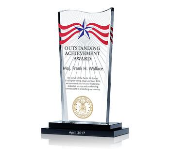 Air Force Achievement Plaque