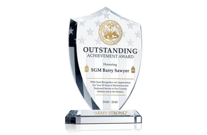 Army Outstanding Achievement Award