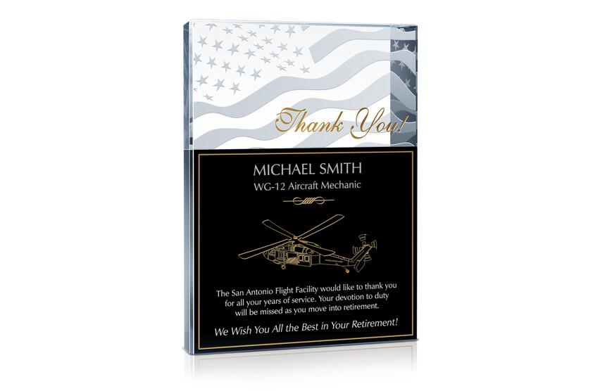 Army Mechanic Appreciation Award