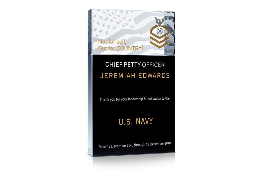 US Navy CPO Appreciation Award