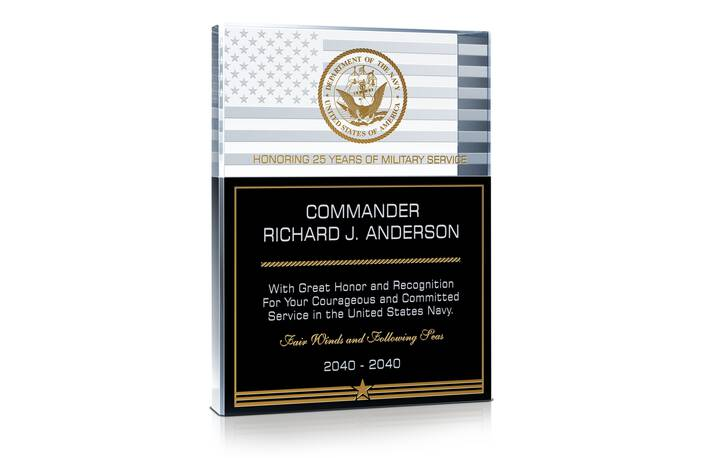 US Navy Military Service Recognition Gift