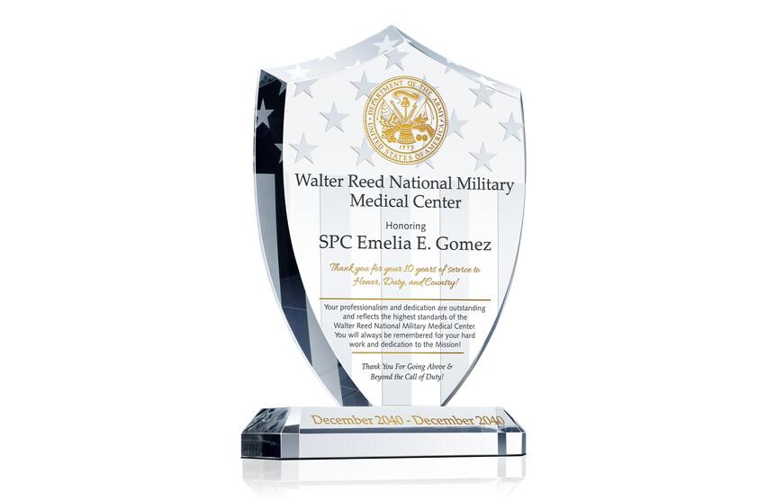 Military Medical Center Service Award