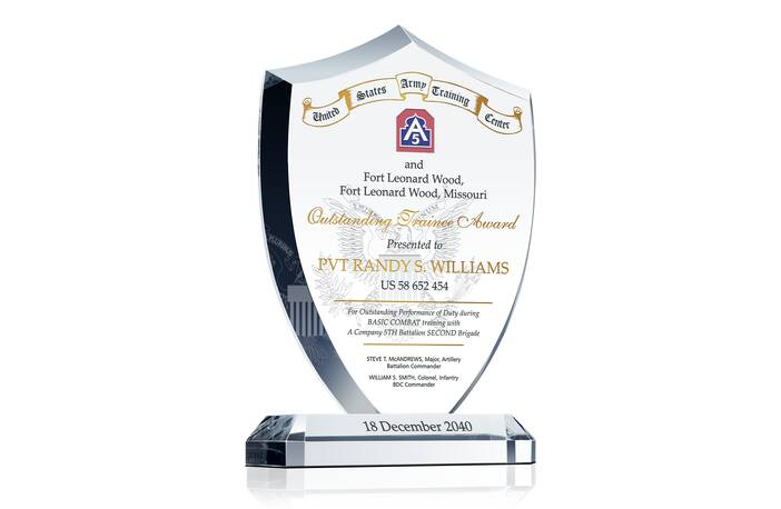Military Outstanding Trainee Award