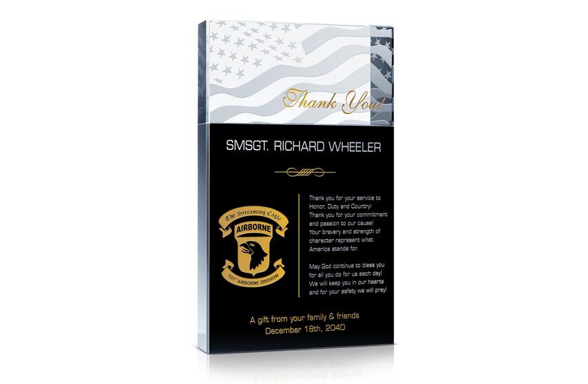 Military Appreciation Gift