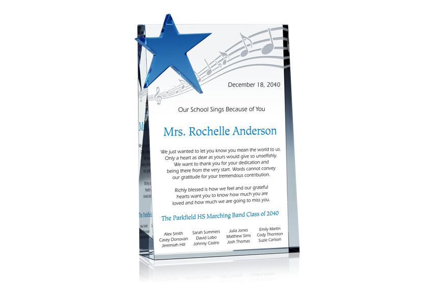 Band Teacher Retirement Gift