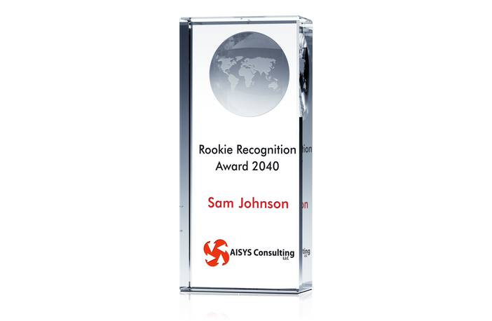 Recognition Award for Rookie